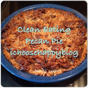 Free Coffee and Clean Eating Pecan Pie